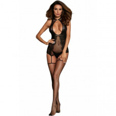Sexy Hollow out Floral Netted Bodystocking